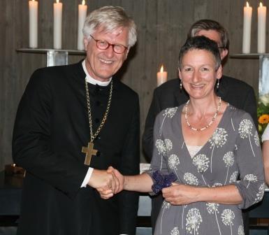 Ehrung Ehrenamtlicher durch Bischof Dr. Heinrich Bedford-Strohm