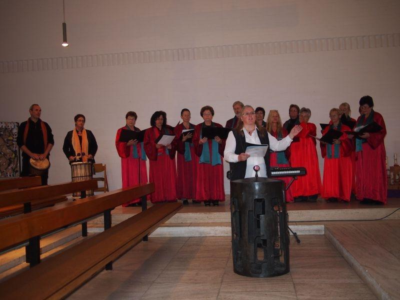 Gospelgottesdienst Okt 2014